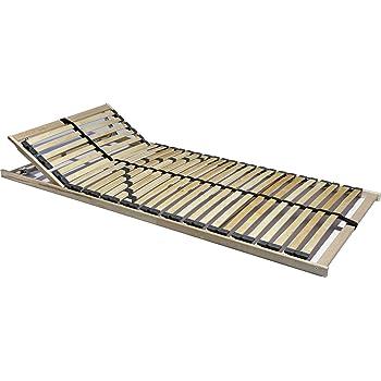 tauro 22914 7 zonen lattenrost 90 x 200 cm geeignet f r alle matratzen kopfteil verstellbar. Black Bedroom Furniture Sets. Home Design Ideas