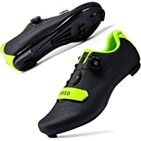 JIASUQI Cycling Shoes for Women Men Road SPD Bike Cycling Shoes Spin Shoestring with Compatible SPD Look Delta Cycle…