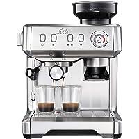Solis Grind & Infuse Compact 1018 Machine a Cafe Grain avec Broyeur Semi-Automatique - Machine a Cafe Acier Inoxydable…