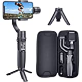hohem iSteady Mobile Plus 3 Axis Handheld Smartphone Gimbal Stabilizer for iPhones, Android Phones Featuring Video Stabilizer