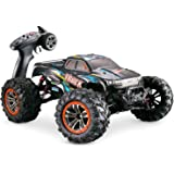 Hosim Large Size 1:10 Scale High Speed 46km/h 4WD 2.4Ghz Remote Control Truck 9125,Radio Controlled Off-Road RC Car Electroni