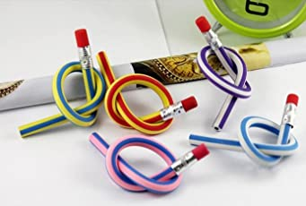 Shararat Nights Flexible Pencil with Eraser for Birthday Party Return Gift in Bulk