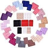 eBoot 36 Pezzi Extender di Bra per Donne Estensione del Reggiseno Ganci, 2 Ganci e 3 Ganci, 18 Colori