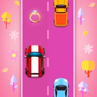 car games: Girls Race Endless car racing game