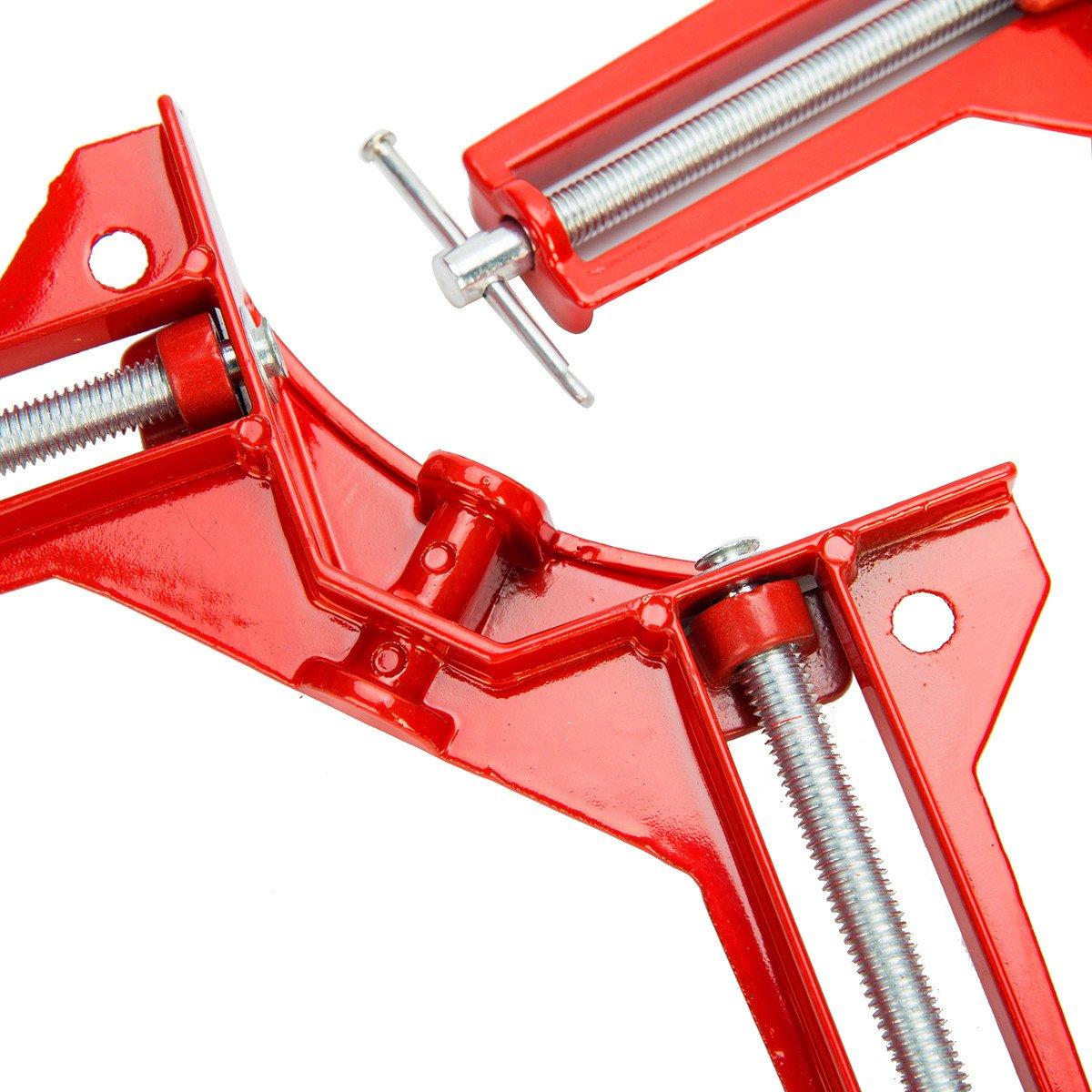 /4/pieza HSM ingletadora Sargento tensor de /ángulo de 75/mm esquina 20115/Sargento apriete FreeTec/ /ángulo 20115