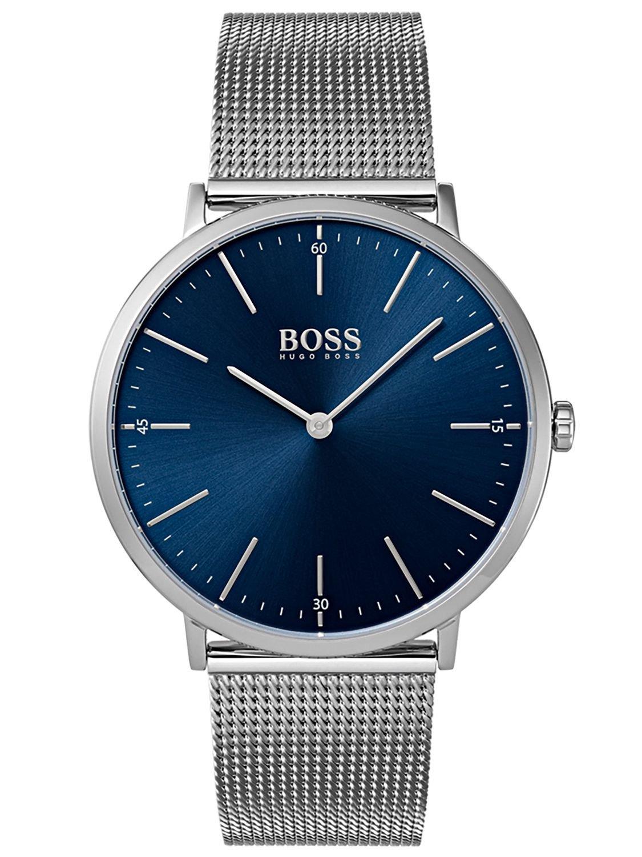 Hugo BOSS Reloj Análogo clásico para Hombre de Cuarzo con Correa en Acero Inoxidable 1513541