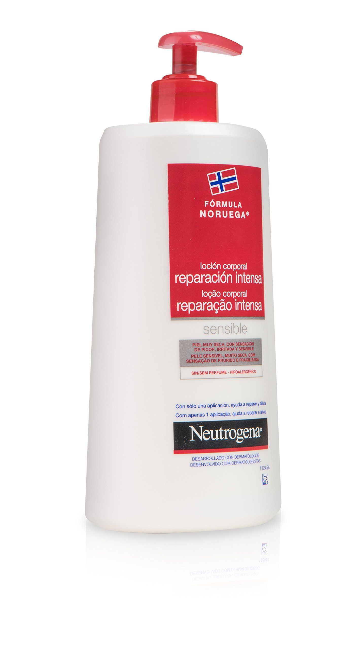Neutrogena Sensible Loción Corporal Reparación Intensa – 750 ml.