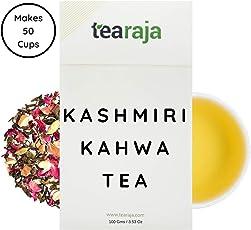 Tearaja Kashmiri Kahwa Green Tea, 100g