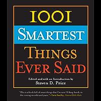 1001 Smartest Things Ever Said (English Edition)