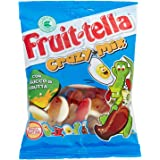 Fruit-tella Crazy Mix Caramelle Gommose Gusto Frutti Assortiti, 175g