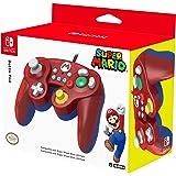 HORI Battle Pad (Mario) - Manette USB style GameCube pour Switch - Officielle Nintendo