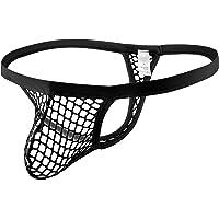 Papapai Men's Sexy Micro Thong Underwear Bikini T-Back G-String Men's Sexy Underwear Thongs G-Strings Briefs See Through…