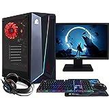 NITROPC - PC Gaming Pack Bronze Rebajas   PC Gamer (CPU Intel G6400 2/4 x 4,00Ghz (Turbo)   Gráfica GT 1030 2GB) + Monitor 21