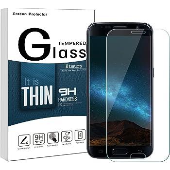 Etmury Galaxy S7 Film de Protection d écran en Verre trempé pour Samsung  Galaxy S7 Film de Protection d écran en Verre trempé Film de Protection  d écran en ... 3c1067df7202