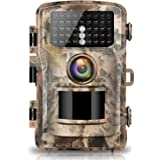 Campark Camera de Chasse 14MP 1080P Etanche IP56 Faune Chasse Scoutisme Détecteur de Mouvement Grand Angle 120 ° Vision Nocturne Infrarouge Surveillance à Domicile