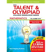 BMA's Talent & Olympiad Exams Resource Book for class-8 (Maths)-2019 Edition