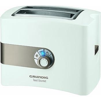 Grundig TA 4260 Toaster (Toast Gourmet), weiß