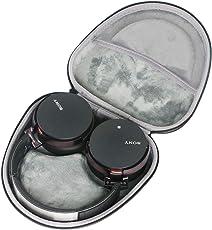 Hart Reise Schutz Hülle Etui Tasche für Sony MDR-XB950B1 / Sony MDR-XB950N1 / Sony MDR-XB950BT Drahtloser Extrabass Kopfhörer von co2CREA