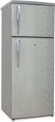 Nikai Double Door Defrost Refrigerator,Silver -NRF170DN3M