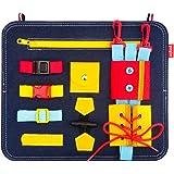 SUNTOY Montessori Jouet éducatif pour Tout-Petits Filles garçons pour Apprendre Les Enfants, Planche occupée