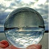 FD2LB1NVL Sfera di Cristallo Trasparente K9, per Feng Shui/Divination o per Decorazioni di Nozze/Casa/Ufficio/Meditazione e G