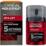 L'Oreal Men Expert Vita Lift 5 Anti Ageing & Firming Daily Moisturiser 50ml Fathers Day Gift