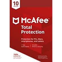 McAfee Total Protection 10 Device [Online Code]