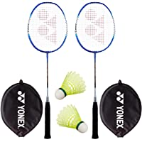 Yonex Super Value Combo (Two Yonex Badminton Racquets and 2 Pieces Shuttlecock)