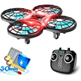Loolinn   Drone pour Enfant Cadeau - Mini Drone Télécommandé avec Technologie Anti-Collision Automatique / Contrôle avec Les