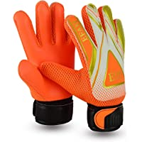 EFAH Football Goalkeeper Gloves For Boys kids children adult Soccer Goalie Gloves Protection Super Grip Palms