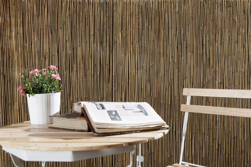 Arella Time in cannette di Bamboo Dimensioni 1.5x3 mt recinzioni Decorazioni