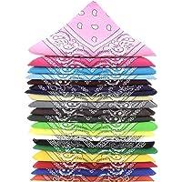 ...KARL LOVEN Bandane 100% cotone per donna uomo Bambini fazzoletto da collo bandana originale motivo paisley copricapo…