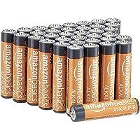 AmazonBasics Piles alcalines AAA 1,5 V pour le quotidien - Lot de 36 (le visuel peut différer)