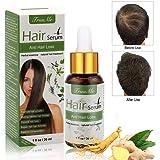 Haarserum, Anti-Haarausfall, Haarwachstums-Serum, natürliche Kräuteressenz, Anti-Haarausfall-Haar-Serum, für dünner werdendes Haar, Verdickung und Nachwachen, für schnelles Haarwachstum