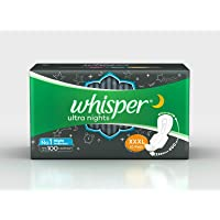 Whisper Ultra Nights XXXL With Wings, 10 Pads