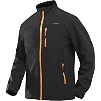 MAGCOMSEN Men's Outdoor Waterproof Jackets Winter Thermal Windproof Windbreaker Coats Softshell Tactical Jacket with Zip…
