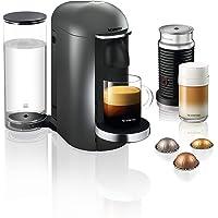 Krups Nespresso XN902T Vertuo Plus inklusive Deluxe Bundle Aeroccino Milchaufschäumer (automatische Kapselerkennung, 1,1…