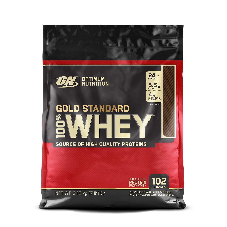 Optimum Nutrition ON Gold Standard 100% Whey Proteína en Polvo Suplementos Deportivos
