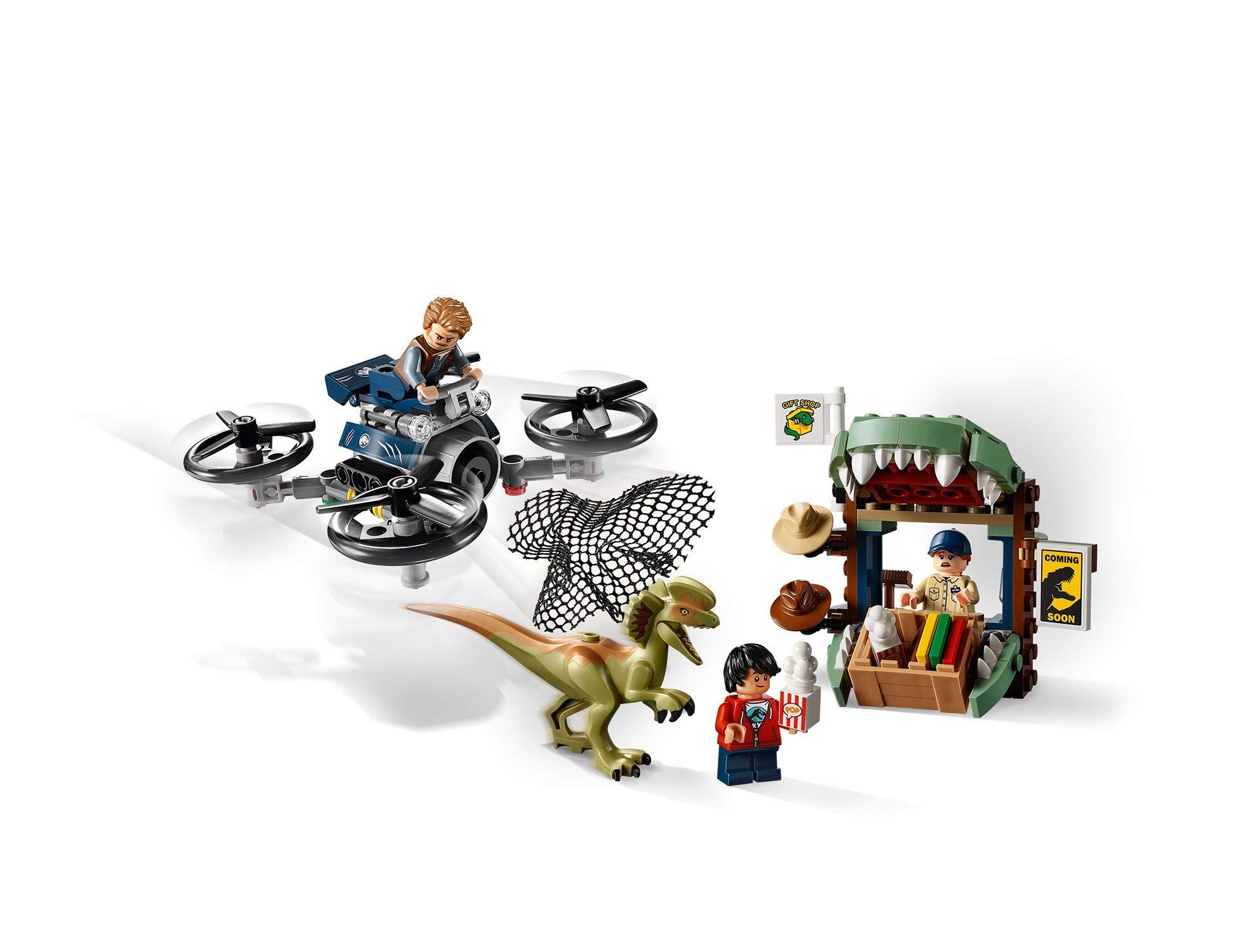LEGO Jurassic World - Gioco per Bambini Dilofosauro in Fuga, Multicolore, 6250526 3 spesavip