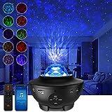 Sternenhimmel Projektor LED Galaxy Light, Starry Projector Light mit Wolken und Sternen, Bluetooth-Lautsprecher Funktion, Gal