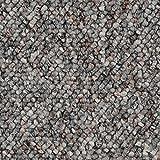 Teppichboden Auslegware Meterware Schlinge grau 200, 300, 400 und 500 cm breit, verschiedene Längen