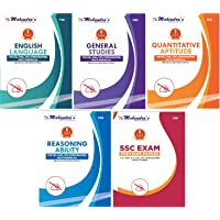 Mahendras SSC Kit English Latest Material (Combo of 5) [SSC BOOK | SSC CGL Tier I & Tier II | CPO | CHSL | GD CONSTABLE | STENOGRAPHER | SSC (10+2) ]