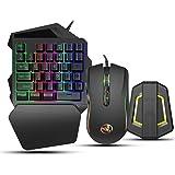 Gaming-tangentbord och muskombination, Keyboard Mouse Converter Kit Gaming Adapter Base Kit Passar för Android-system Kompati