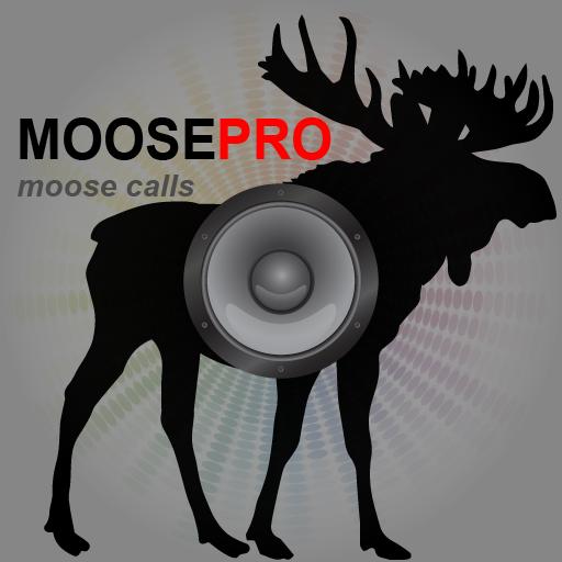 REAL Moose Calls App for Moose Hunting and Big Game Hunting - BLUETOOTH COMPATIBLE (Antler Deer Mount)