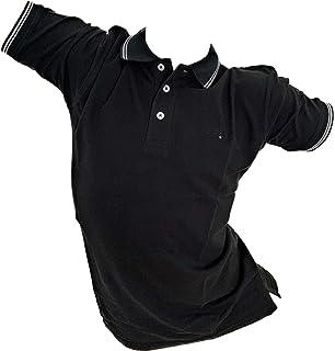 da uomo vestibilit/à regolare S/&C Polo a maniche corte
