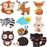 ParNarZar Kits de Peinture de Diamant 5D pour Les Kits de Diamant de Dotz d'enfants peignent par numéros Autocollants de Puzz
