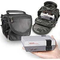 Orzly® Sacoche de Voyage pour Nintendo NES Classic Mini (Version 2016) – Rangez la Console avec Tous Ses Accessoires…