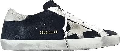 Golden Goose Scarpe Sneakers Uomo Vintage Superstar GMF0001.F000341.50519 Blu