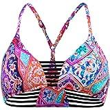 Seafolly Kashmir Multi Rouleau Bralette Bikini Donna