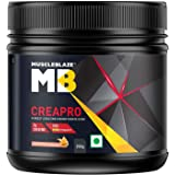 MuscleBlaze CreaPRO Creatine with Creapure, 250 gms / 0.55 lb (Fruit Punch)